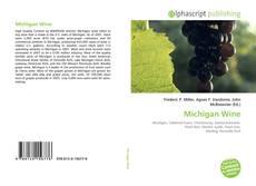 Copertina di Michigan Wine