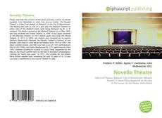Novello Theatre kitap kapağı