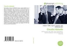 Capa do livro de Claudio Abbado