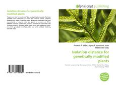 Couverture de Isolation distance for genetically modified plants