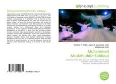 Bookcover of Muhammad Muslehuddin Siddiqui