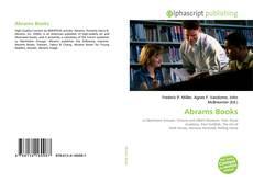 Copertina di Abrams Books