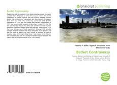 Buchcover von Becket Controversy