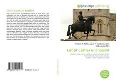 Buchcover von List of Castles in England