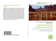 Capa do livro de Timeline of Native American Art History