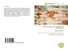 Capa do livro de Designer