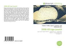 Portada del libro de 2008–09 Liga Leumit
