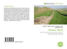 Borítókép a  Frontier Thesis - hoz