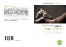 Обложка Riggs Stephenson