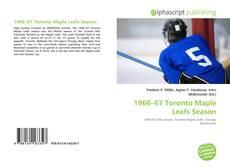 Capa do livro de 1966–67 Toronto Maple Leafs Season