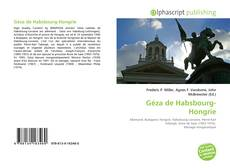 Portada del libro de Géza de Habsbourg-Hongrie