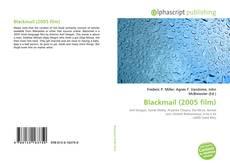 Portada del libro de Blackmail (2005 film)