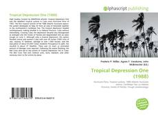 Bookcover of Tropical Depression One (1988)