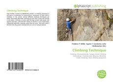 Bookcover of Climbing Technique