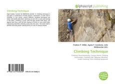 Borítókép a  Climbing Technique - hoz