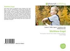 Bookcover of Matthew Engel