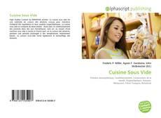 Bookcover of Cuisine Sous Vide