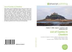 Buchcover von List of Castles in Cheshire
