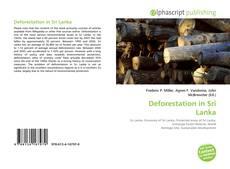 Couverture de Deforestation in Sri Lanka