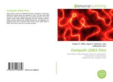 Bookcover of Footpath (2003 film)