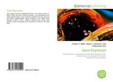 Capa do livro de Joan Feynman