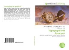Capa do livro de Topographie de Besançon