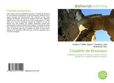 Capa do livro de Citadelle de Besançon