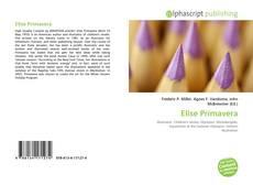Bookcover of Elise Primavera