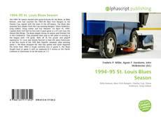 Borítókép a  1994–95 St. Louis Blues Season - hoz
