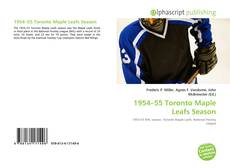 Couverture de 1954–55 Toronto Maple Leafs Season
