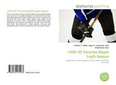 Обложка 1994–95 Toronto Maple Leafs Season