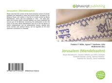 Bookcover of Jerusalem (Mendelssohn)
