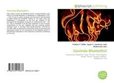 Capa do livro de Govinda Bhattathiri