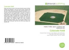 Bookcover of Colorado Field