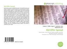Copertina di Bid-Offer Spread