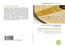 Bookcover of Mykhailo Domontovych