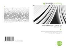 Bookcover of V.