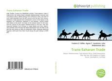 Capa do livro de Trans-Saharan Trade