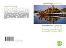 Bookcover of Barong (Mythology)