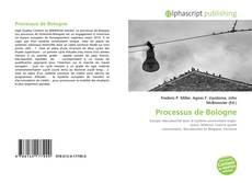 Borítókép a  Processus de Bologne - hoz