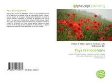Bookcover of Pays Francophone