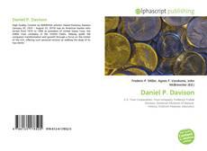 Couverture de Daniel P. Davison