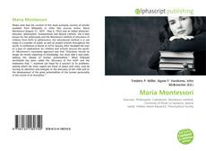 Bookcover of Maria Montessori