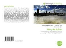 Обложка Mary de Bohun