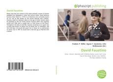 Copertina di David Faustino