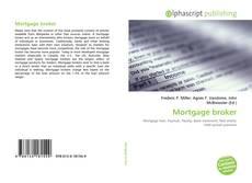 Bookcover of Mortgage broker