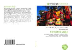 Bookcover of Formative Stage