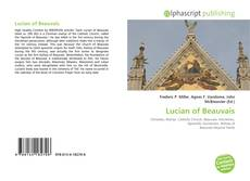 Bookcover of Lucian of Beauvais