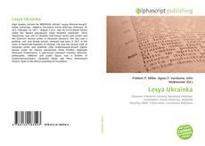 Capa do livro de Lesya Ukrainka
