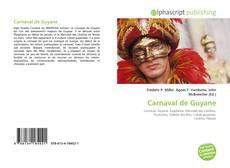 Bookcover of Carnaval de Guyane